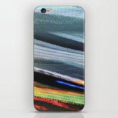TV Scanning iPhone Skin