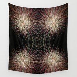 Neon Lights | Firework Frame Wall Tapestry