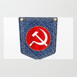 Russian Denim Pocket Rug