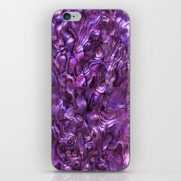 Abalone Shell | Paua Shell | Magenta Tint iPhone Skin