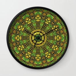 Mosaic 4f Wall Clock