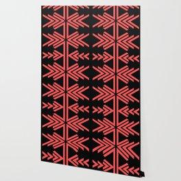 V pattern Wallpaper