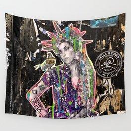 Rehab Amy Graffiti in New York City Wall Tapestry
