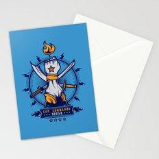 CAP. COMMANDO TEAM Stationery Cards
