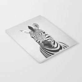 Zebra - Black & White Notebook