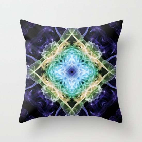 Smoke Art 89 Throw Pillow