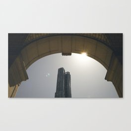 DownTown rainbow Canvas Print