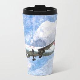 Air Canada Boeing 767 Art Travel Mug