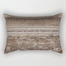 Brown Lace Rectangular Pillow
