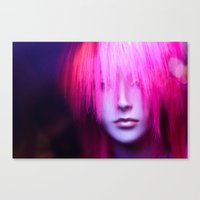 jem Canvas Prints featuring Hollywood Jem by CamRaFace