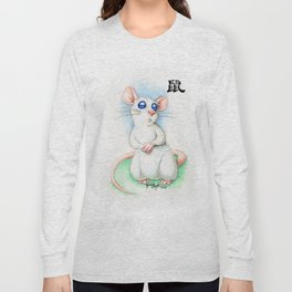 Chinese Zodiac Year of the Rat Long Sleeve T-shirt