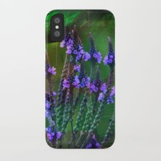 Flowers In A World Of Colors  Slim Case iPhone X