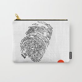 the Fingerprint Carry-All Pouch