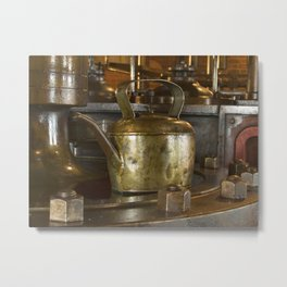 Polly put the kettle on Metal Print