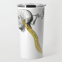 spinal column Travel Mug