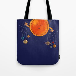 Plantary Puppeteering  Tote Bag