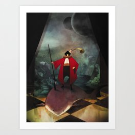 The Aristocrat Art Print