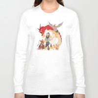 mulan Long Sleeve T-shirts featuring Team Mulan by Citron Vert