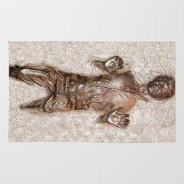 Han Solo In Carbonite Rug