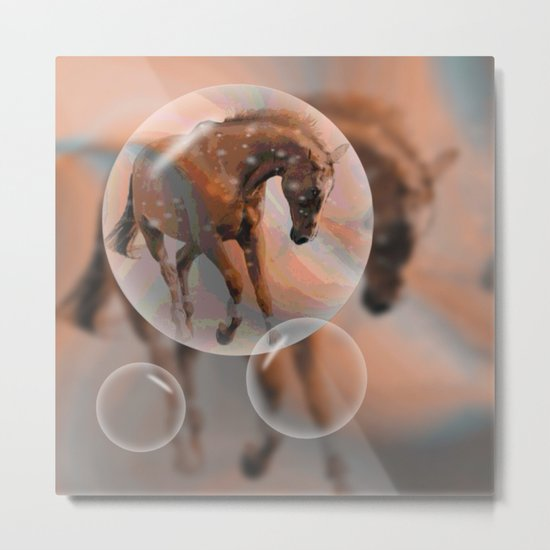 ... dreaming of a horse Metal Print