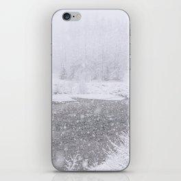 Light Snowfall iPhone Skin
