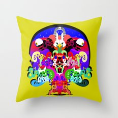 Erik L & Illingsworth - Northern Connection Throw Pillow