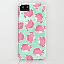 Pink Unicorn LTK pattern iPhone Case