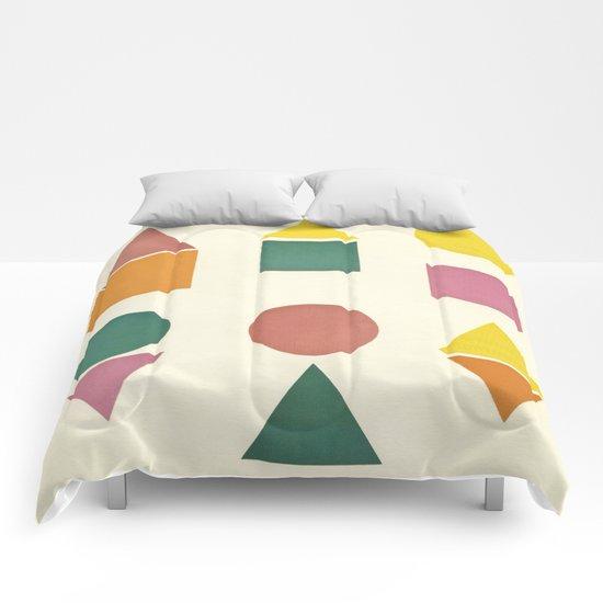 Shape Sorter Comforters