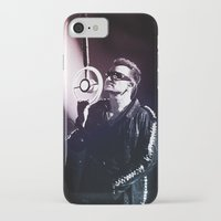 u2 iPhone & iPod Cases featuring U2 / Bono 4 by JR van Kampen