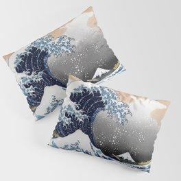 "Hokusai , "" The Great Wave off Kanagawa "" Pillow Sham"