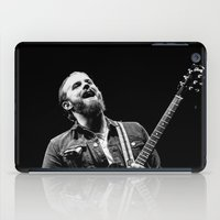 caleb troy iPad Cases featuring Caleb Followill (Kings of Leon) - I by Tomás Correa Arce (RockMe TommyBoy)