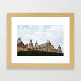 Top of the Kelvingrove in Glasgow Framed Art Print