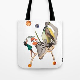 Pelican punk Tote Bag