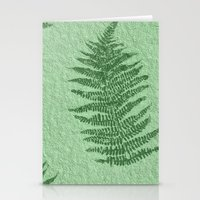 fern Stationery Cards featuring Fern by Mr and Mrs Quirynen