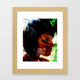 Something Remembered Framed Art Print