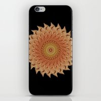 dahlia iPhone & iPod Skins featuring Dahlia by Deborah Janke