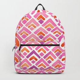 Sewatdee Pink Pattern Backpack
