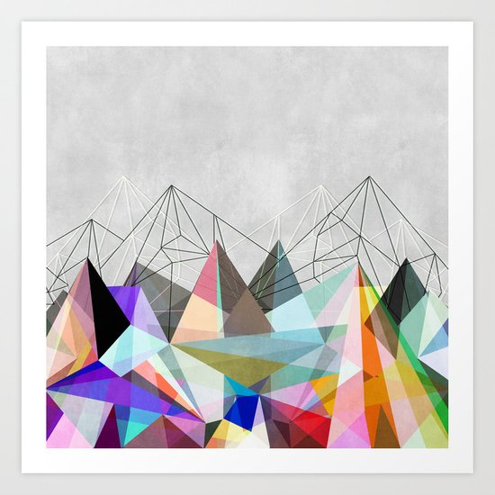 Colorflash 3 Art Print