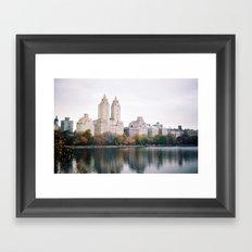 Central Park New York City Framed Art Print