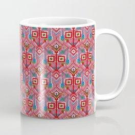 Pink Tribal Pattern Coffee Mug