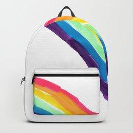 rainbow simple Backpack