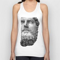 greek Tank Tops featuring greek by bobbybard