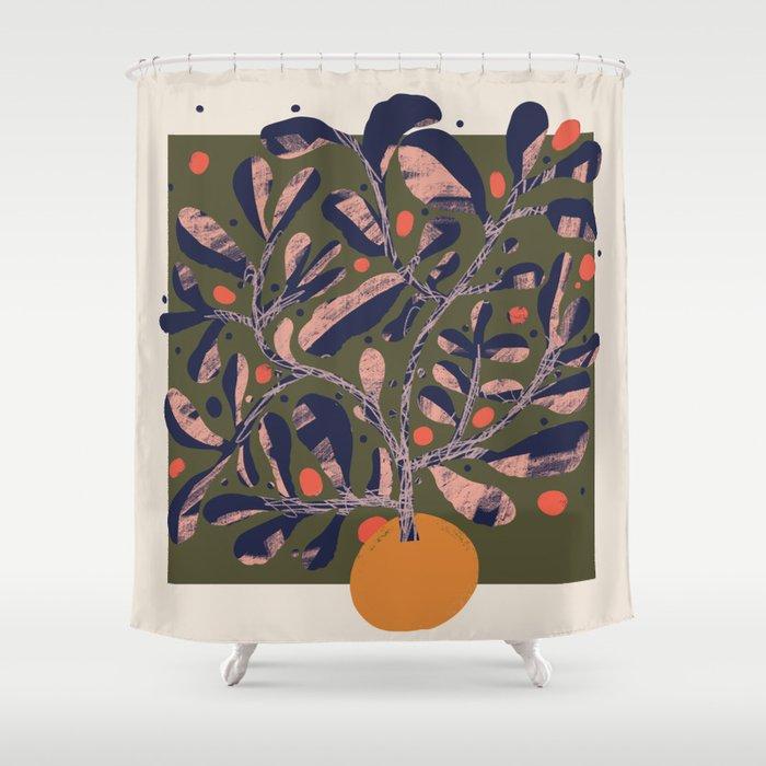 Thriving Tree Shower Curtain