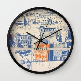 Nuremberg U-Bahn Memories - Rathaus Wall Clock