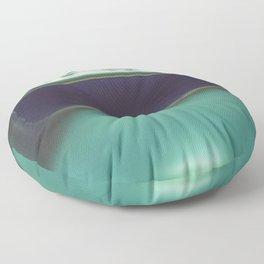 Instant Series: Teal Floor Pillow
