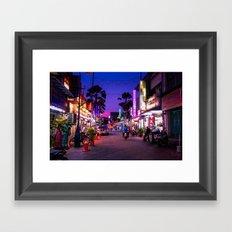 Malaysia Little India Framed Art Print