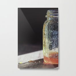 Sweeter than Honey - Kitchen Art Metal Print