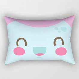 Just Smile Rectangular Pillow