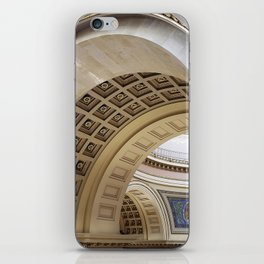 Wisconsin Capitol Building Arches And Angles iPhone Skin