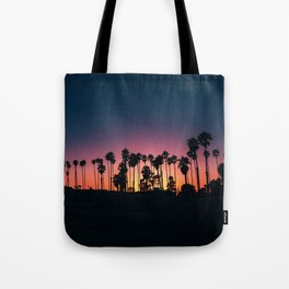 The Perfect Tropical Sunset (Color) Tote Bag